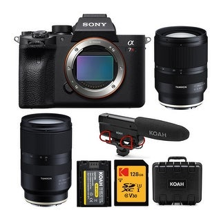 Link to Sony a7R IV 61MP Mirrorless Camera with 17-28mm and 28-75mm Lens Bundle Similar Items in Digital Cameras