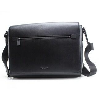 Michael Kors Saffiano Harrison Large Men's Messenger Bag