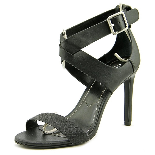 Charles By Charles David Ringer Women Open Toe Synthetic Black Sandals