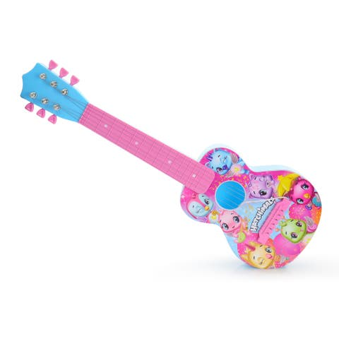 Hatchimals 21 Inch Mini Guitar in Pink and Blue