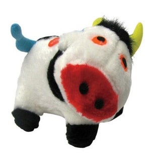 Diggers 0880909 Plush Dog Toy, Cow