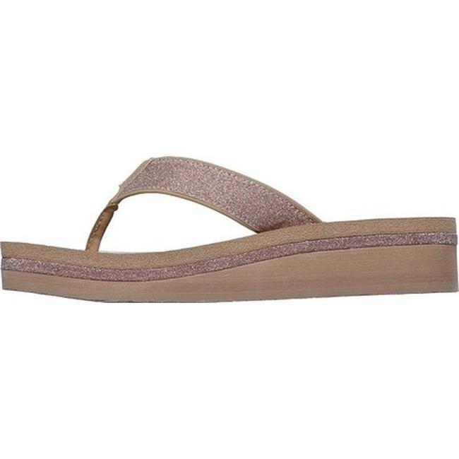 Skechers Women's Vinyasa Unicorn Mist Thong Sandal Taupe