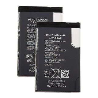 Replacement BL-5J Battery f/ Nokia 5233 / Lumia 530 Phone Models