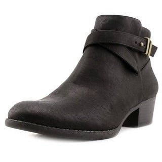 INC International Concepts Herb II   Round Toe Synthetic  Ankle Boot