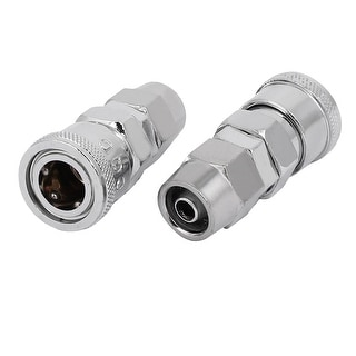 SP-40 Air Compressor Quick Coupler 2PCS for 12mm Pipe Outter Dia
