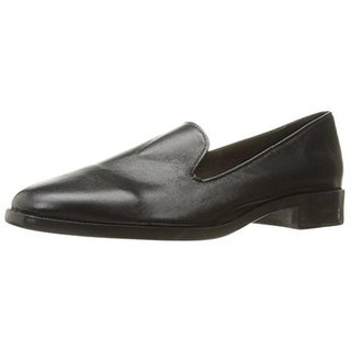 N.Y.L.A. Womens Loafers Leather Slip On - 9 medium (b,m)