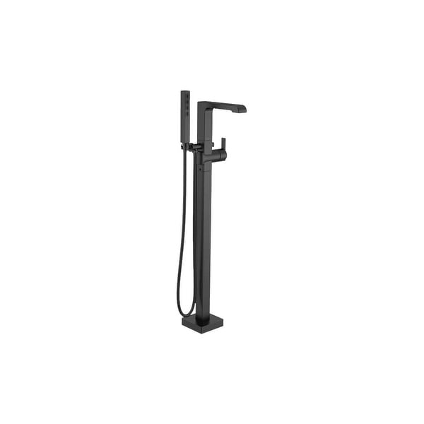 Delta T4767-FL Ara Free Standing Tub Filler with Built-In Diverter