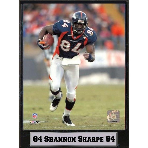 Shop Encore Select 9 x 12 Plaque - Shannon Sharpe Denver Broncos - Free  Shipping On Orders Over  45 - Overstock - 23949886 2644d2e0f