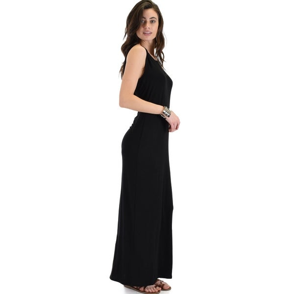 Shop Ascension Contemporary Hooded Maxi Dress Black Small Free