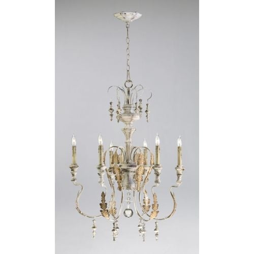 Cyan design 4170 6 light up lighting chandelier from the motivo collection