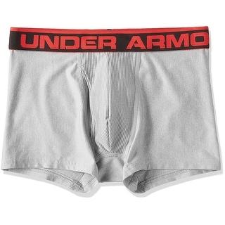 Under Armour Men's Original Series 3 Boxerjock - True Gray Heather - Large