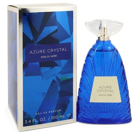Azure Crystal by Thalia Sodi Eau De Parfum Spray 3.4 oz For Women