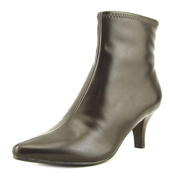 Impo Navika Women Pointed Toe Synthetic Brown Ankle Boot