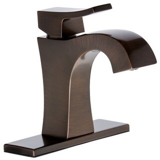 Mirabelle MIRWSVL100 Vilamonte 1.5 GPM Single Hole Bathroom Faucet - Includes Pop-Up Drain Assembly