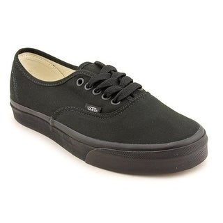 Vans Authentic Round Toe Canvas Sneakers
