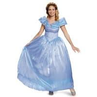 Disguise Cinderella Movie Ultra Prestige Adult Costume - Blue
