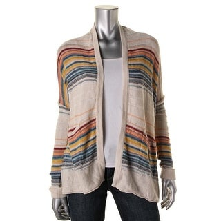 Billabong Womens Juniors Knit Open Front Cardigan Sweater - S