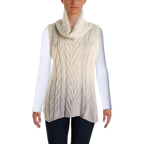 Sanctuary Womens Sweater Ombre Sleeveless