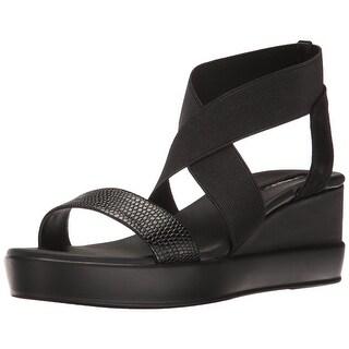 Tahari Womens Ta-Prince Open Toe Casual Platform Sandals