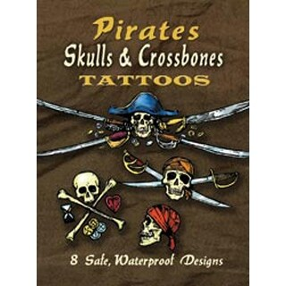 Pirates Skulls & Crossbones Tattoos - Dover Publications
