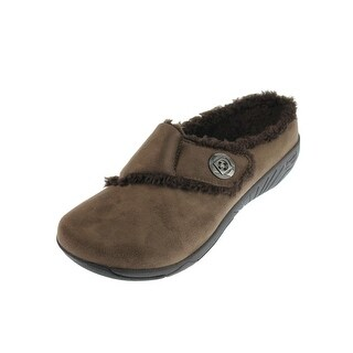 Propet Womens Morgan Microsuede Casual Slipper Shoes