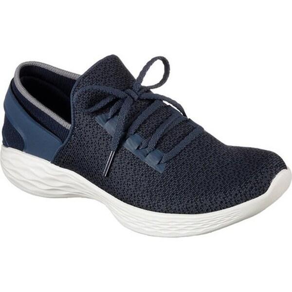Shop Skechers Women's YOU Inspire Sneaker Navy Free