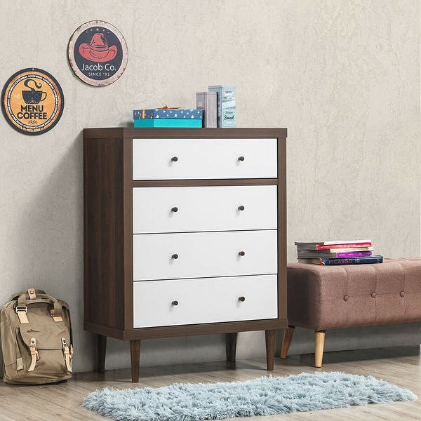 4 Drawer Dresser Wooden Chest