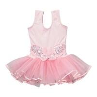 14063cb814e Shop Reflectionz Black Rosette Tutu Leotard Dance Dress Toddler Girl ...
