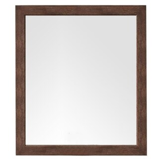 James Martin Furniture Columbia 48 in. Mirror, Coffee Oak
