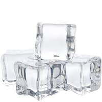 Real Acrylic Ice Cubes Large