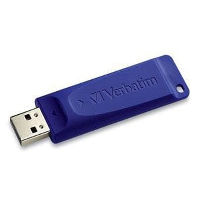 Verbatim 64Gb Usb 2.0 Flash Drive, Blue