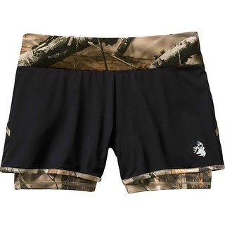 Legendary Whitetails Ladies Sunset Performance Camo Lined Shorts