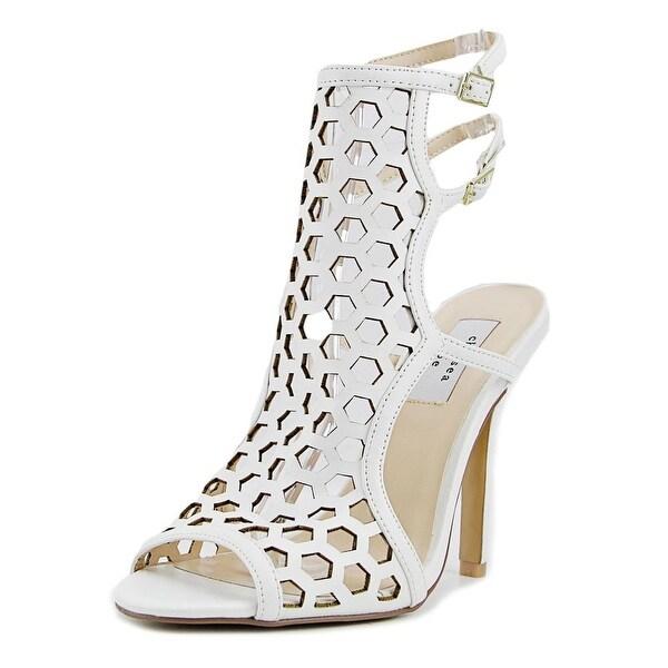 Chelsea & Zoe Elita Women White Sandals