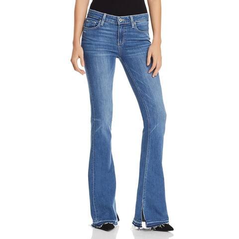 Paige Womens Lou Lou Flare Jeans Denim Skinny - Annabella