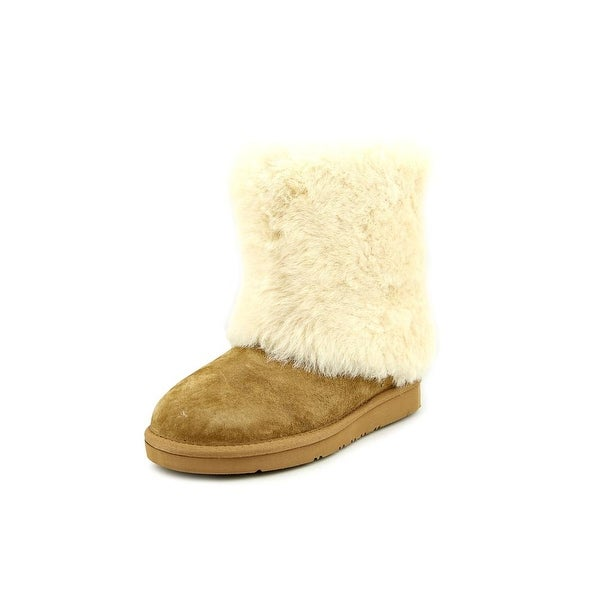 c03b2e9ffa7 Shop Ugg Australia Patten Women Round Toe Suede Tan Winter Boot ...