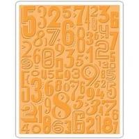 Numeric - Sizzix Texture Fades A2 Embossing Folder