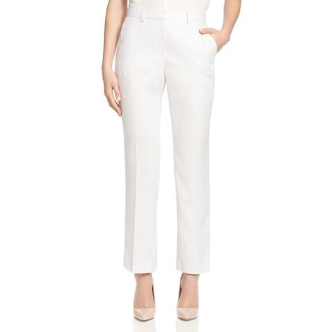 T Tahari Womens Trouser Pants Lightweight Woven