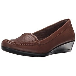 Eastland Women's Grace Slip-On Loafer, Tan, 11 M US