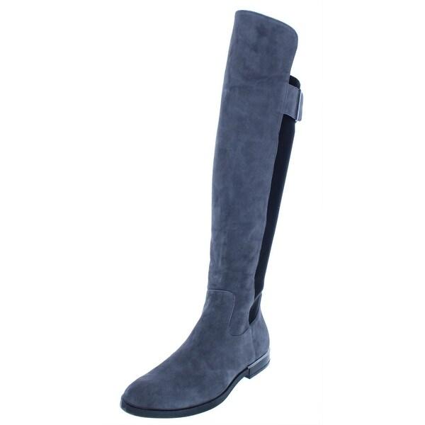 63330087893 Shop Calvin Klein Womens Priya Riding Boots Wide Calf Suede - Free ...