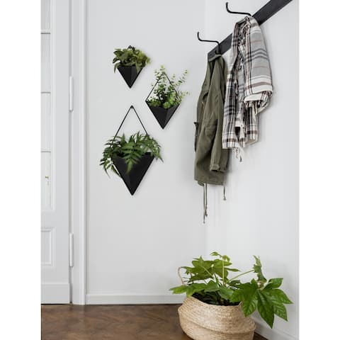Kate and Laurel Tulla Geometric Hanging Wall Planter
