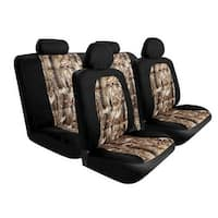 Pilot Automotive SC-5025E Black Camo Mesh Seat Cover (Pack of 10)