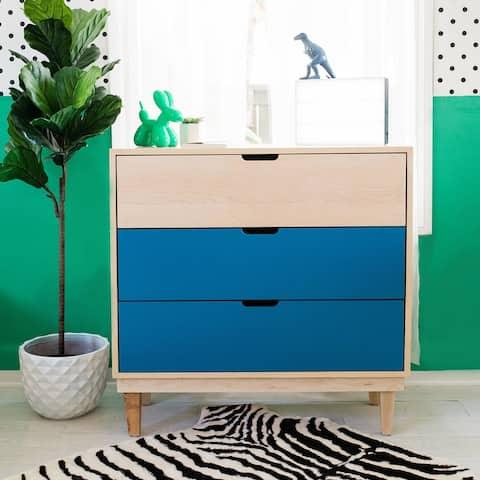 Taylor & Olive Marigold Hand-crafted 3-drawer Dresser