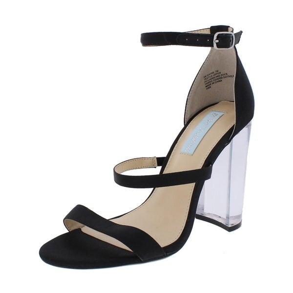 Blue by Betsey Johnson Womens Dafne Dress Sandals Heels Strappy
