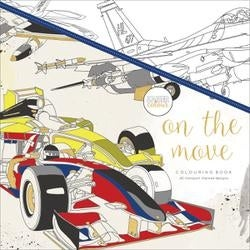On The Move - KaiserColour Perfect Bound Coloring Book