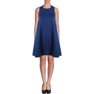 AQ/AQ Womens Mini Dress Ponte Sleeveless