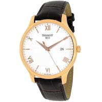 Tissot Men's Tradition T0636103603800 Silver Dial Watch