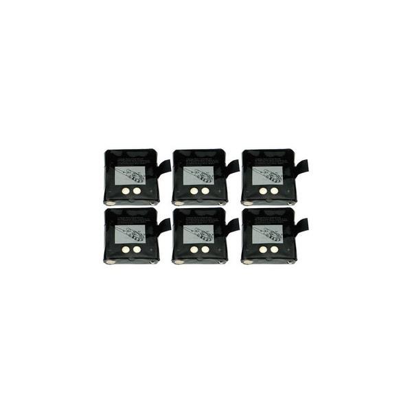 Battery for Motorola KEBT072 (6-Pack) SX700 NIMH Recharge Battery