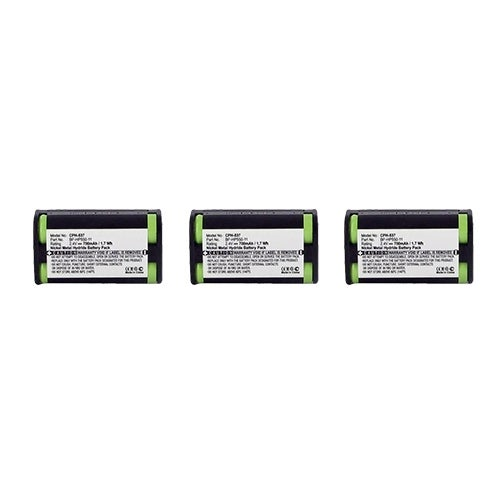 """Battery for Sony BPHP55011 / BPHP5502 (3-Pack) Replacement Battery"""