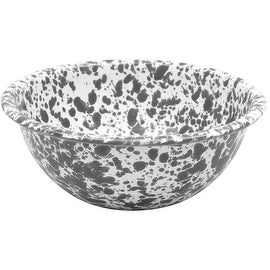 "Crow Canyon D17GYM Cereal Bowl, Grey Marble, 6"" Diameter"