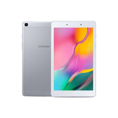 """SAMSUNG SM-T290NZKCXAR Galaxy Tab A 8.0"""" 32 GB WiFi Tablet Silver"""